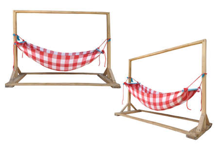 Old style of child crib