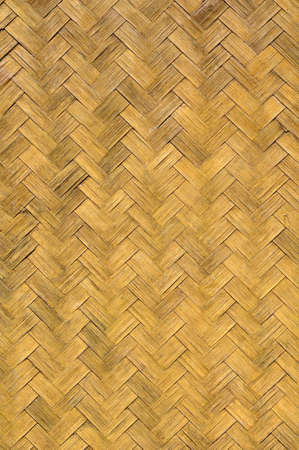 Texture of old weave bamboo wall Stock Photo - 9838243