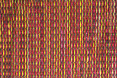 Texture of thai native weave mat photo