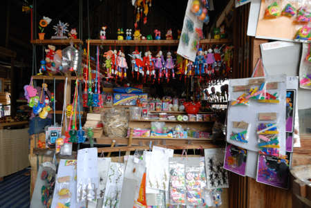 Thai old native toy shop