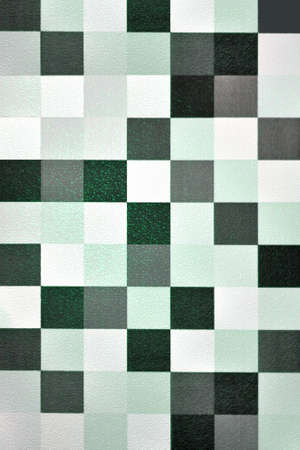 Seamless geometric wallpaper background (green tone) photo