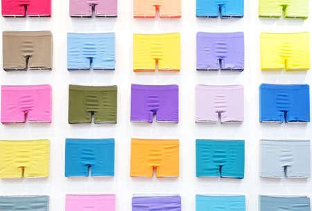 Set of colorful man underwears