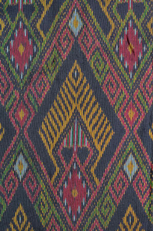Pattern of old thai native cloth