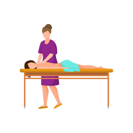 Harmony relax resort medical massage at soft bed