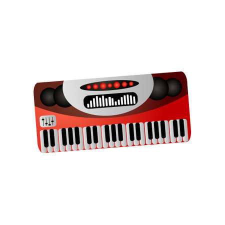 Music instrument, electronic piano or synthesizer for study or concert