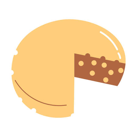 Healthy milk cheese containing probiotics for good microflora in stomach