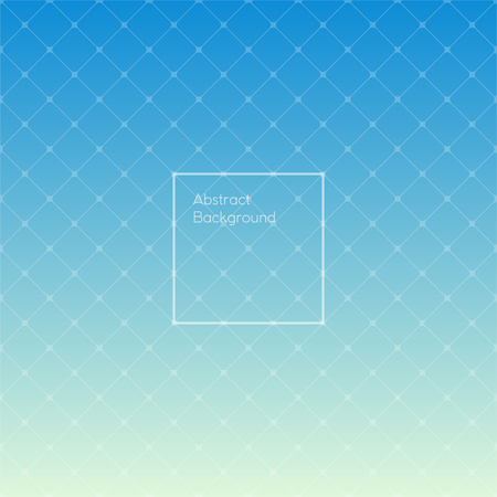 simple sky: Gradient sky blue colored triangle polygon pattern background. Design square simple pattern. Vector illustration.