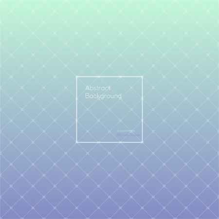 medium: Gradient Aquamarine and Medium purple colored triangle polygon pattern vintage background. Abstract geometrical background made up with triangular and rhombus shapes. Brochure, poster, design.