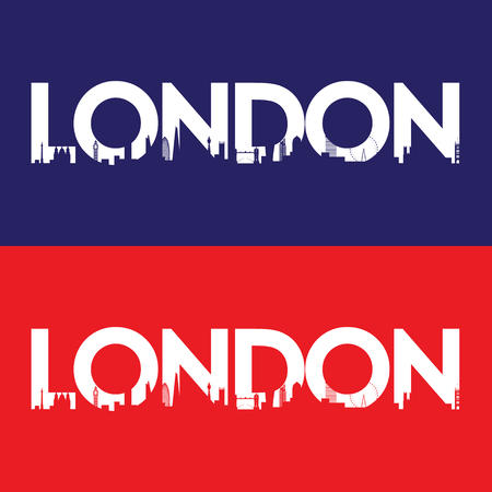 london tower bridge: London city label. Creative poster design. Vector illustration.