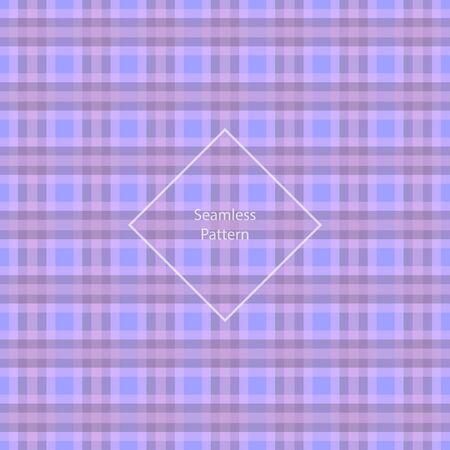 quartz: Plaid fabric cage back pattern Rose Quartz and Serenity. Seamless pattern. Vector illustration.