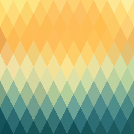 Abstract background, pattern rhombs, transition bright colors, vector background. Vector backdrop of geometric shape. Sunset.