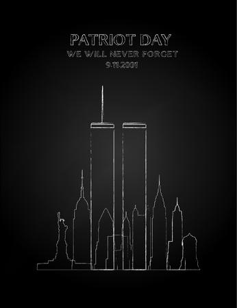 Patriot dag banner.