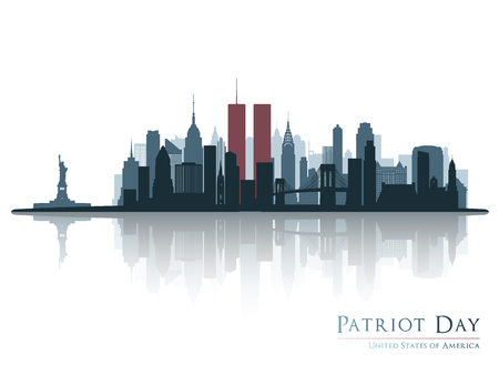 Patriot day banner.
