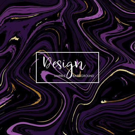 Modern Marble Design for Invitation, Save the date, Cards, Posters, Brochures, etc. Abstract marble background. Vector design. Ilustração