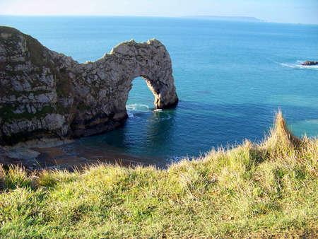 durdle door: Durdle Door Dorset Stock Photo