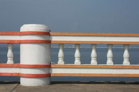 Baluster on sea view Stock Photo - 13657685
