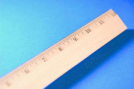 a wooden ruler