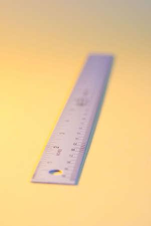 incremental: a metal ruler