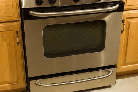 oven and range: range oven kitchen stainless steel