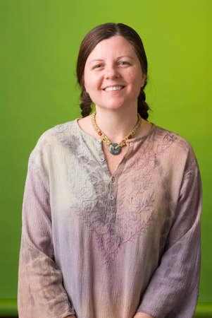 conscious: a portrait of an environmentally conscious woman