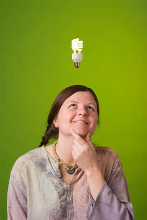environmentalist: an environmentalist has a green idea