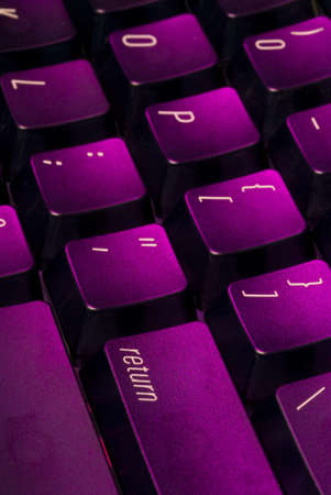 the return key on a computer keyboard Imagens
