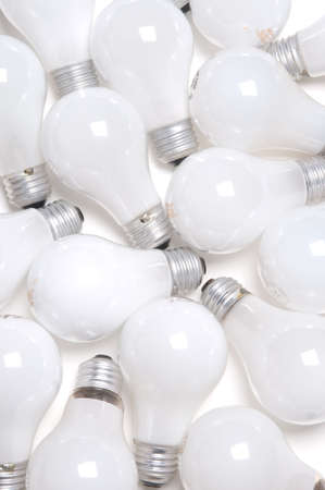 incandescent light bulbs Imagens