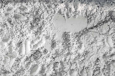 Diatomaceous earth, natural insecticide that kills by breaking the exoskeletons causing dehydration. Also used as filtration aid, abrasive, absorbent, stabilizer, thermal insulator and filler Archivio Fotografico