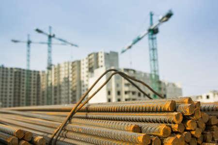 fil de fer: Empilement d'armature de construction