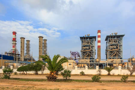 Sousse thermal power plant in Tunisia