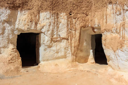matmata: Residential caves of troglodytes Stock Photo