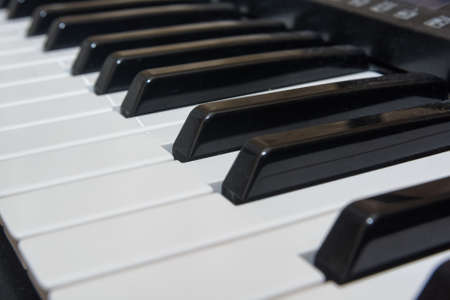 hymnal: Close-up electric piano