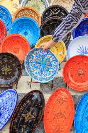dagestan: Decorative souvenir dishes