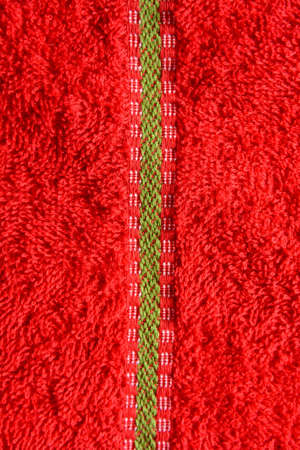 bagging: New red cloth texture