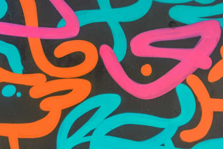 graffity: Abstract colorful graffity background Stock Photo
