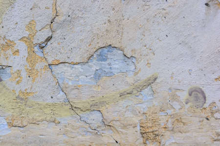 Cracked cement plaster texture