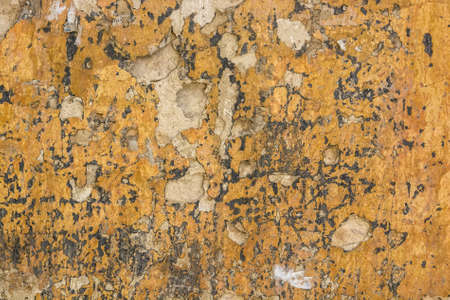 desaturated: Cracked old cement plaster texture