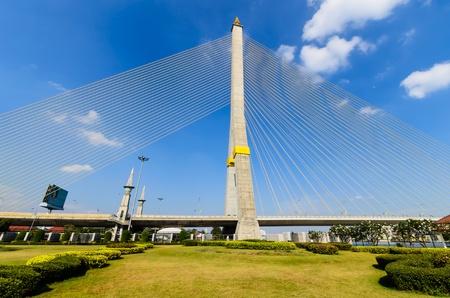 viii: Phra Ram VIII Bridge In      Bangkok,Thailand