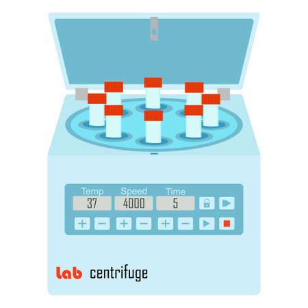 Vacutainers - 化学および生物学的実験のための実験装置で実験室遠心
