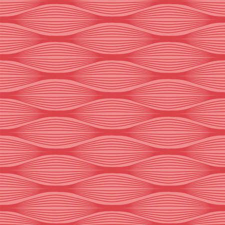 El tejido muscular patrón transparente. Ilustración vectorial material de las células musculares en filas. colección medicina y la biología