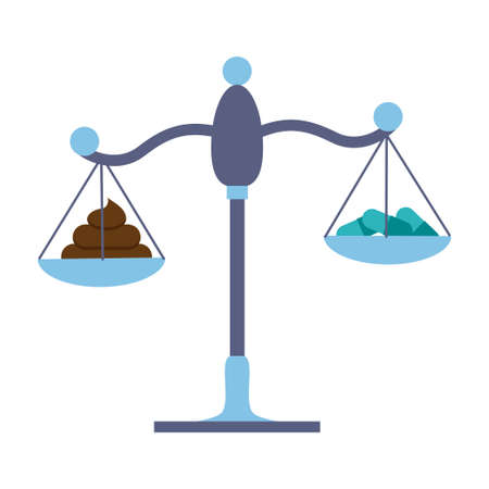 スケール論叢移植対丸薬。株式ベクトル イラスト ドナー便から細菌、または薬と薬治療を比較します。  イラスト・ベクター素材