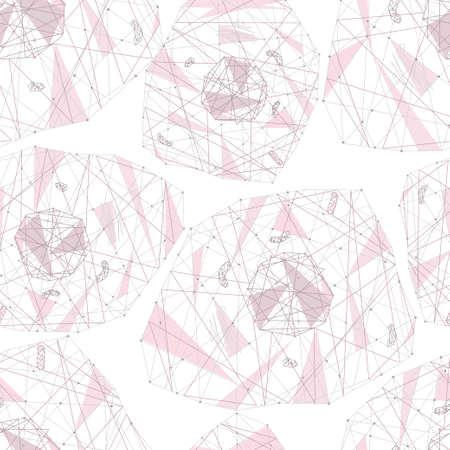 fond de cellule polygonale