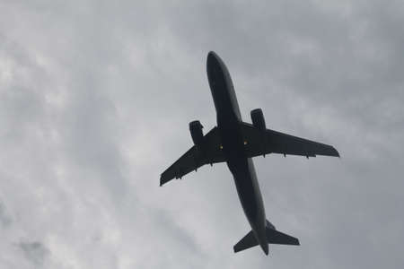 Jet over Potomac Stock fotó