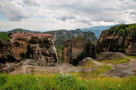 inaccessible: Monastery in Meteora, Greece.