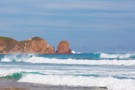 Pinnacles rock formation, Cape Woolamai, Phillip Island, Victoria, Australia