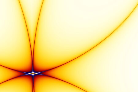 Abstract background with stylized star shape in red, yellow, and white Stock Photo