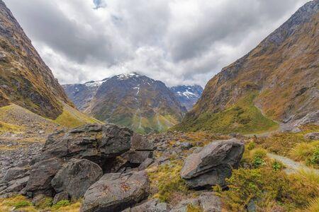 Majestic Darran Mountains, Fiordland, South Island, New Zealand