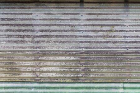 galvanised: Galvanised metal sheets background pattern Stock Photo