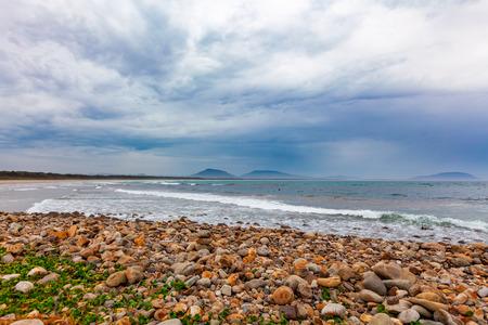 Crowdy Bay beach at Crowdy Head, New South Wales, Australia