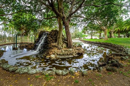 Macintosh Island park in Surfers Paradise, Queensland, Australia Stock fotó